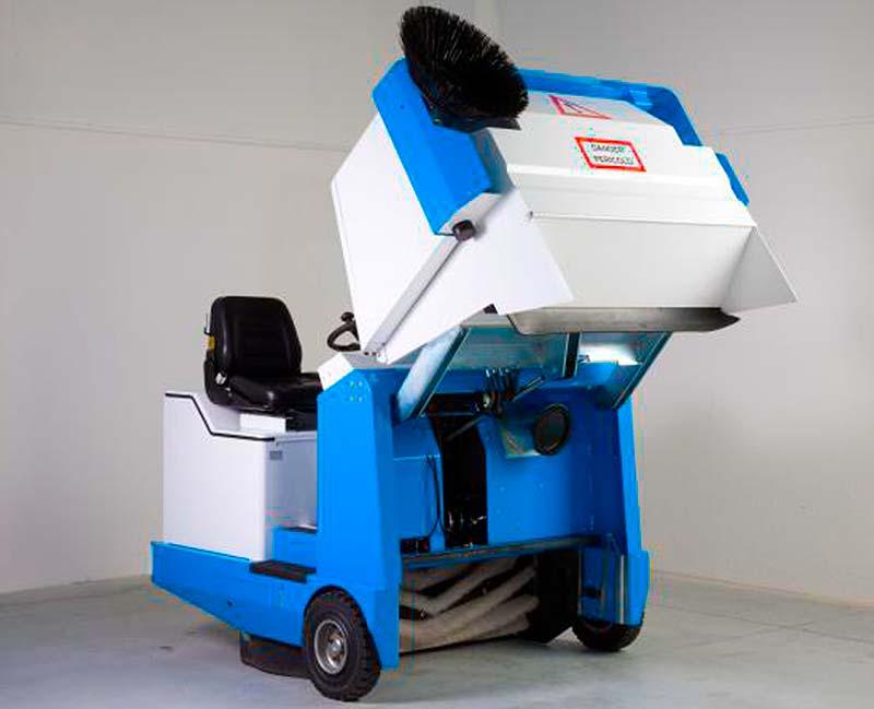 Manutenzione macchine per la pulizia industriale